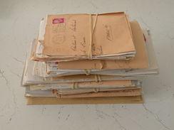 France > Marcophilie (Lettres) > Oblitérations Mécaniques (flammes) Super Lot De Lettre Avec Leurs Flammes - Poststempel (Briefe)