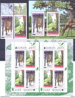 2011. Bulgaria, Europa 2011, 2v + S/s + Booklet, Mint/** - 2011