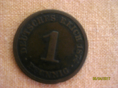 Germany: 1 Pfennig 1874 A