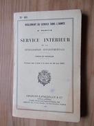 2 Livrets 1926 1937 MILITARIA REGLEMENT SERVICE INTERIEUR GENDARMERIE DEPARTEMENTALE + Modèles Gendarme = Militaire - Police & Gendarmerie