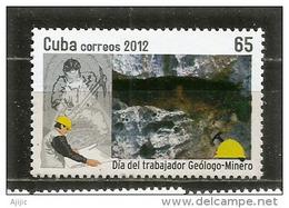CUBA.  Journée Des Mineurs.  Un  T-p Neuf **, Année 2012 - Minéraux