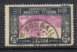NOUVELLE-CALEDONIE N°147A Oblitération De Bourail - Gebraucht
