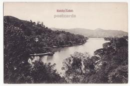 CEYLON, Scenic View Of Kandy Lake, C1910s Vintage Postcard - SRI LANKA - CEYLAN - Sri Lanka (Ceylon)