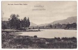 CEYLON - The Lake - Nuwera Eliya, C1910s Vintage Postcard - CEYLAN - SRI LANKA - Sri Lanka (Ceylon)
