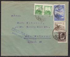 España 1936. Canarias. Carta De Tenerife A Las Palmas. Censura. - Marcas De Censura Nacional