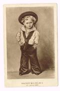 Kaiser Wilhelm II Im Jahre 1861 - Wilhelm II Hohenzollern - Familles Royales