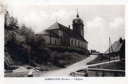 Sombacour ; L'eglise - France