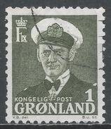 Greeland 1950. Scott #28 (U) King Frederik IX * - Greenland