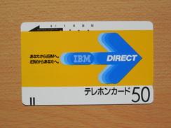 Japon Japan Free Front Bar, Balken Phonecard - 110-885 / IBM - Direct - Japan