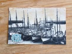 C.P.A. 56 ILE DE GROIX : Port Tudy, En Basse Mer, En 1906 - Groix