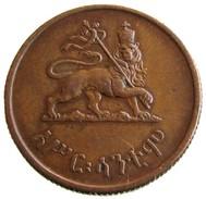 1944 - 10 Santim (Assir Santeem - አሥር ፡ ሳንቲሞ) - KM# 34 - Etiopia