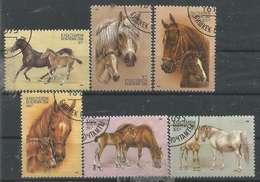 LOTE 1260  ///  (C040) FAUNA - Kirghizstan 1995 - YT N° 66/71 - Sonstige