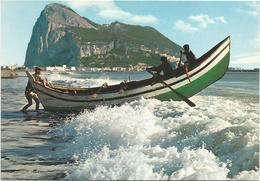 V609 El Penon De Gibraltar - Rock / Non Viaggiata - Gibilterra
