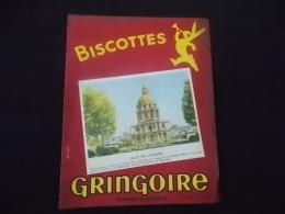 Buvard Biscottes Gringoire Pithiviers En Gatinais Eglise Des Invalides - Biscottes