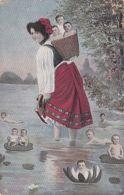 Propagande Nataliste - Femme - Bébés - Ansichtskarten