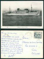 BARCOS SHIP BATEAU PAQUEBOT STEAMER [BARCOS #01689] - MOTONAVE CIUDAD DE PALMA - Steamers