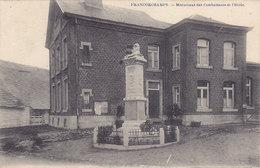 Francorchamps - Monument Des Combattants Et L'Ecole (Desaix, 1921) - Stavelot