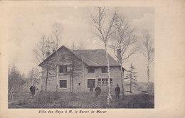Engis - Villa Des Rays à M Le Baron De Macar (animée, Edit Douret) - Engis