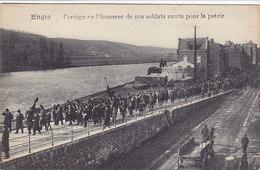 Engis - Cortège En L'honneur De Nos Soldats Morts Pour La Patrie (top Animation, Kermesse, Edit Tricnon 1922) - Engis