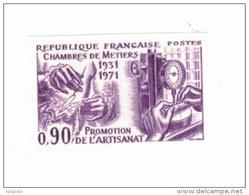 Non Dentelés - N° 1691 - Essai De Couleur - France