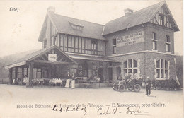 Goé - Hôtel De Béthane - Laiterie De La Gileppe (animée, Oldtimer, 1905, Cachet Tervueren) - Gileppe (Barrage)
