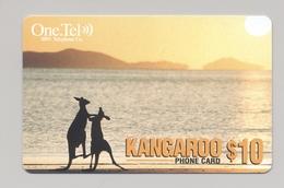 AUSTRALIA Phonecard Telecard Fauna Kangaroo - Schede Telefoniche