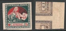 LETTLAND Latvia 1934 Michel 53 Z * - Lettonie