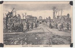 LONGUYON -HAUT -champ De Bataille -ruines Du Village- Carte Allemande- Dép54(Guerre 14-18) - Longuyon