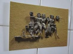 Musee De Delphes. Representation Mythologique En Ivoire. VIe S. Av. J.-C. - Grèce