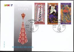 Croatia Zagreb 1995 / History Of Necktie Croata / Businessman Dandy Soldier - Kostums