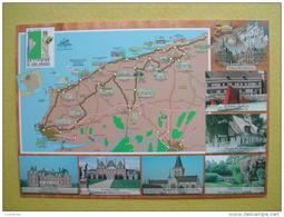 La Route De L´Ivoire Et Des Epices. Cany Barville, Ermenouville, Le Bourg Dun,Offranville, Veules Les Roses, Fécamp. - Francia