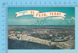 Souvenir Of El Paso Texas USA - 2 Scans - Souvenir De...