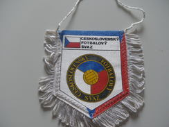 Fanion Football - FEDERATION - TCHECOSLOVAQUIE - Apparel, Souvenirs & Other