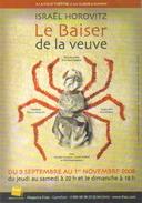 """Carte Postale édition """"Cart'Com"""" (2009) Le Baiser De La Veuve (araignée) A La Folie Théâtre - Werbepostkarten"""