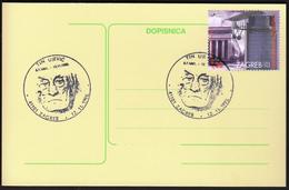 Croatia Zagreb 1995 / Tin Ujević / Croatian Poet - Schrijvers
