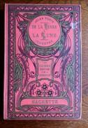 Jules Verne - De La Terre à La Lune - Hachette Cartonnage Aux Feuilles D'acanthes, Années 20 - Livres, BD, Revues