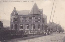 Trooz   Bureau Des Charbonnages Du Hasard Circulé En 1902 - Trooz