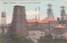 Paturages  Charbonnage Du Fief De Lambrechies Carte Colorisée Circulé En 1910 - Colfontaine
