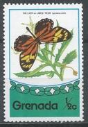 Grenada 1975. Scott #660 (MNH) Butterfly, Large Tiger * - Grenade (1974-...)