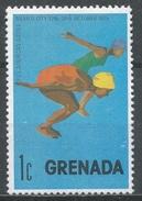 Grenada 1975. Scott #669 (M) Pan-American Games, Women's Swimming * - Grenade (1974-...)