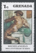 Grenada 1975. Scott #677 (MNH) Young Man By Michelangelo * - Grenade (1974-...)