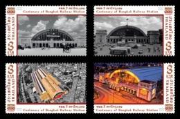 Thailand 2016 Mih. 3601/04 Bangkok Railway Station MNH ** - Thailand
