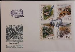 FDC PORTUGAL - 2ª Exposição Mundial Tematica PORTUCALE 77 (thematic Philatelic Exhibition Porto 1977) - Lisboa 30.9.1976 - FDC