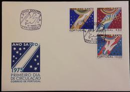 FDC PORTUGAL - Ano Santo (Holly Year) - Lisboa 13.5.1975 - FDC