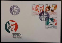 FDC PORTUGAL - Primeiro Aniversario Do Movimento Do 25 De Abril - Lisboa 25.4.1975 - FDC