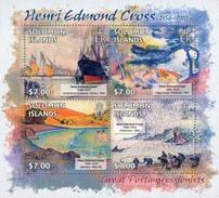 SOLOMON ISLANDS 2013 SHEET EDMOND CROSS ART PAINTINGS ARTE PINTURAS Slm13220a - Solomon Islands (1978-...)