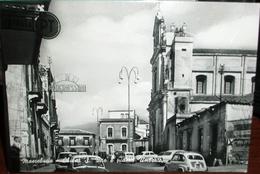 ANIMATA CON VEDUTE CINE MODERNISSIMO  BAR CAPINERA  E CHIESA DI S.VITO- MASCALUCIA PROV.CATANIA VERA FOTO - Catania