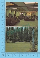 Multi-vues -Thompson Manitoba Canada - Handicraft At The Airport+ Golf Course  -  2 Scans - Thompson
