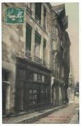 BLOIS ( 41 - Loir Et Cher ) - Rue Saint Lubin - Vieille Maison ( Personnes , Fripier Au Petit Louvre ) Carte Colorisée - Blois