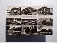 POSTCARD & STAMP 1950 YEARS GERMANY ALLEMAGNE BAD HONNEF MULTI VIEWS - Bad Honnef